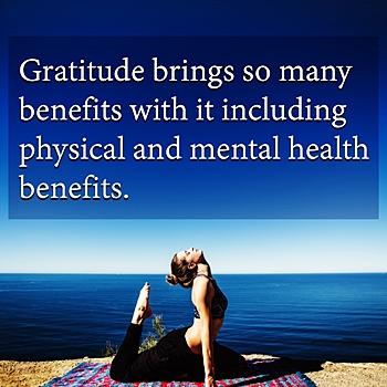 gratitude makes you healthier and happier